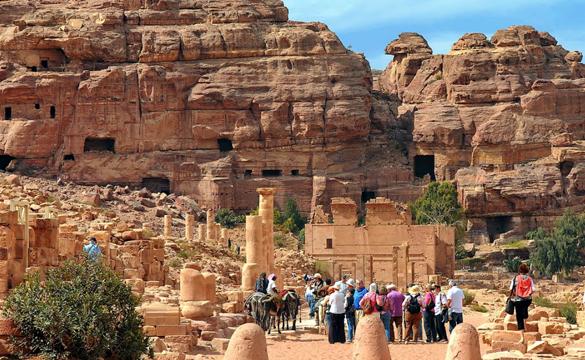 Ruínas de Petra - Jordânia