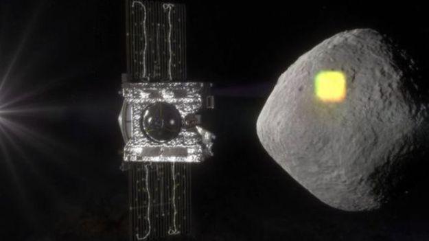 A Nasaa vai lançar em setembro uma sonda para estudar o asteroide Bennu Fonte: NASA