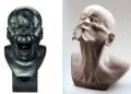 Estranhas esculturas do século XVIII