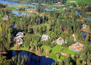 Uma aldeia dos sonhos na Letônia