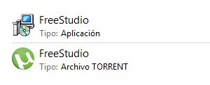 contenido del torrent