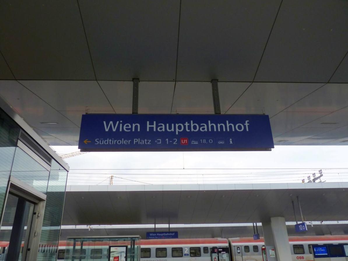 Viena Áustria Estação Mundo Indefinido