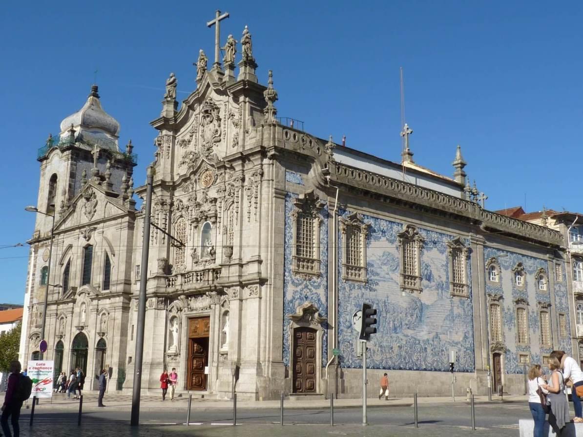 Conjunto Igrejas do Carmo e dos Carmelitas Porto Portugal Mundo Indefinido