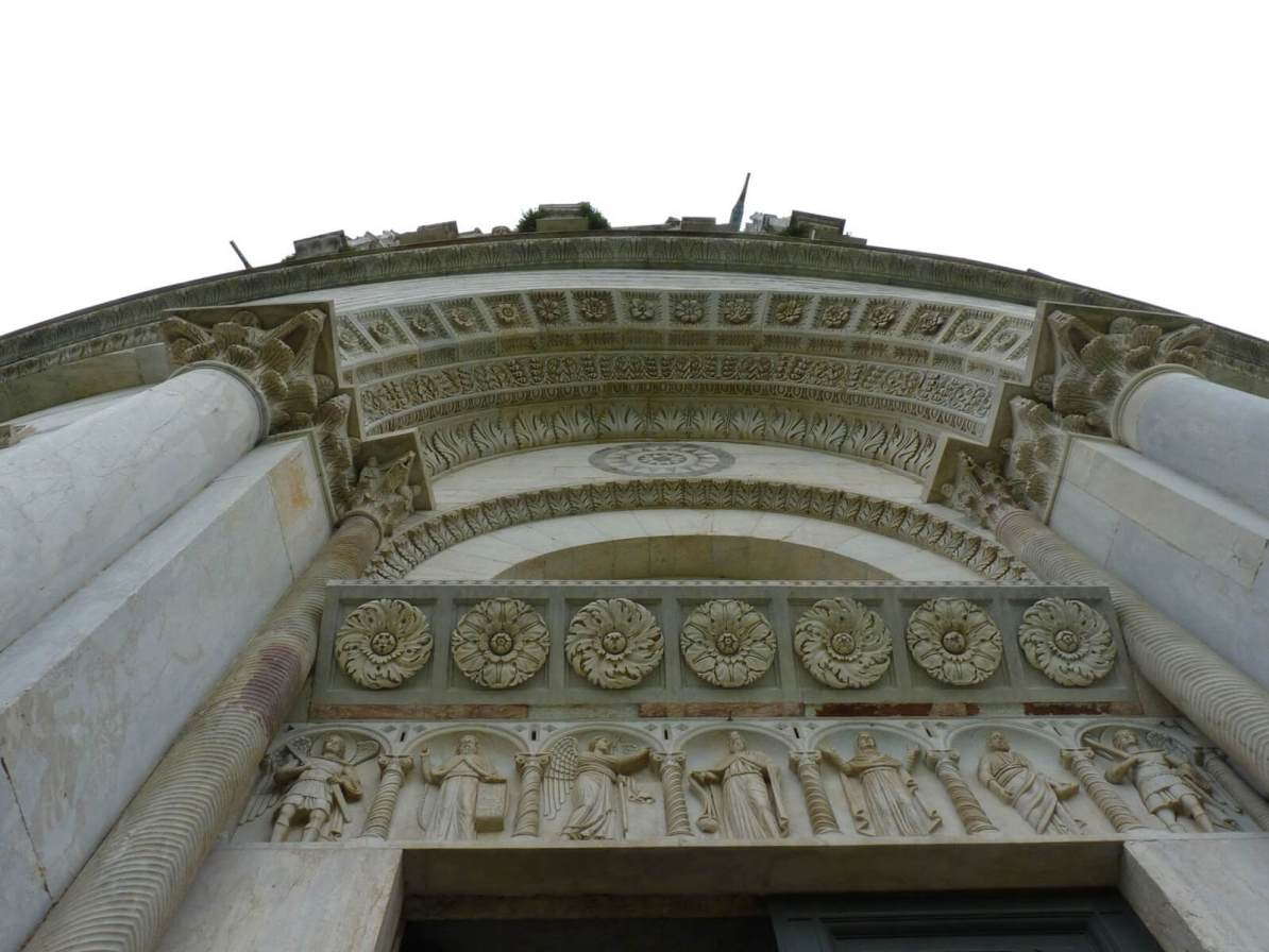 Battistero di San Giovanni Fachada Pisa Itália 02 Mundo Indefinido