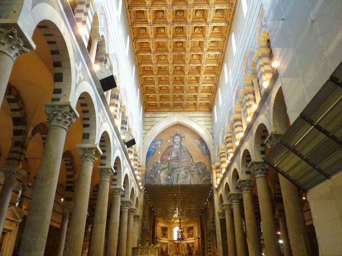 Cattedrale di Pisa Interior Itália Mundo Indefinido
