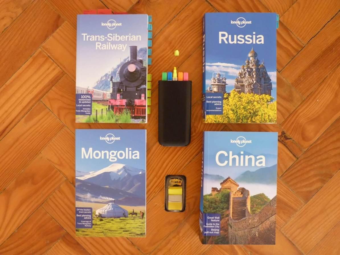 Livros Lonely Planet Transiberiano Mundo Indefinido
