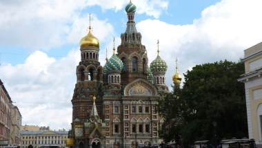 Catedral do Sangue Derramado São Petersburgo Rússia Mundo Indefinido