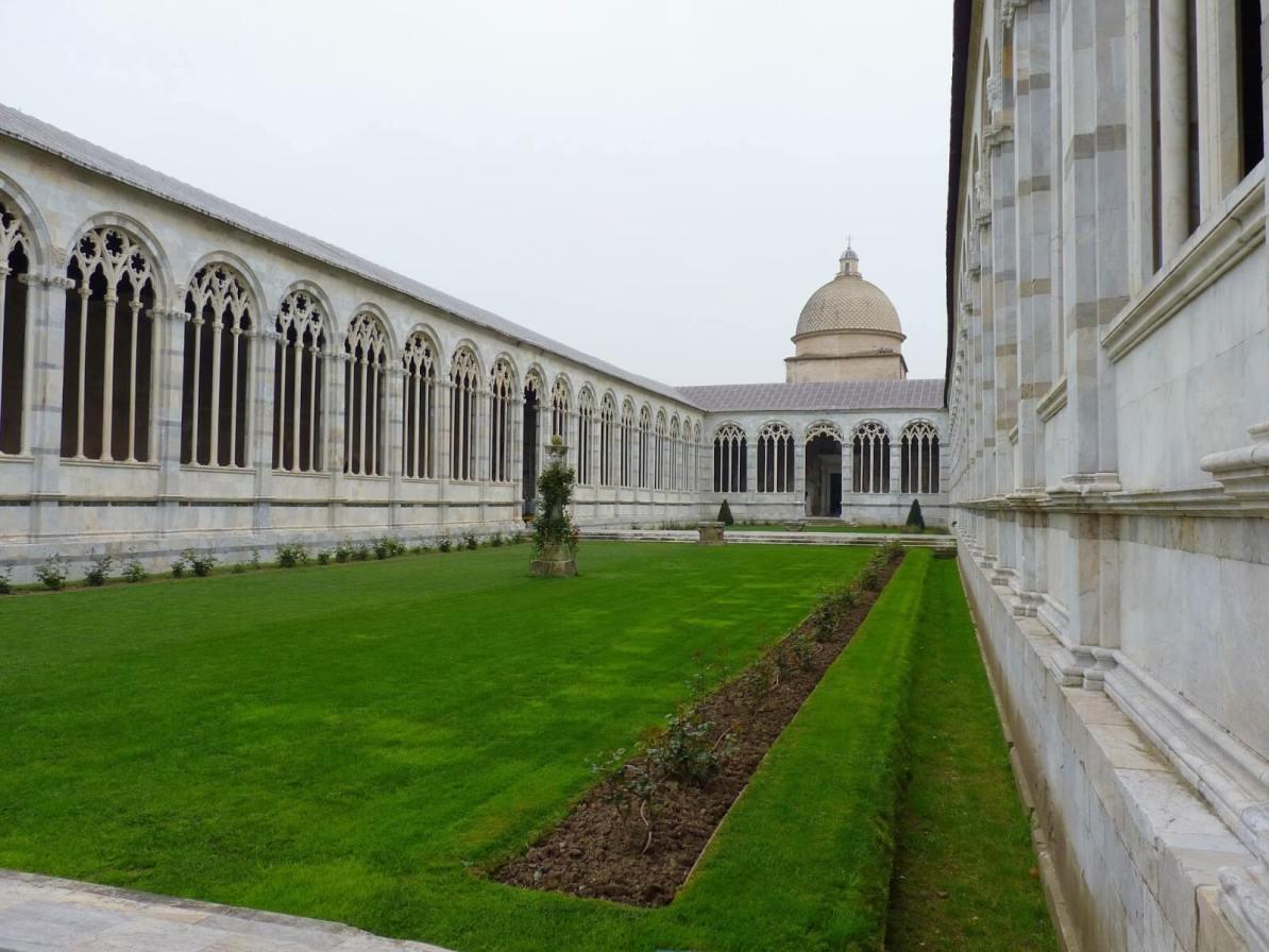 Camposanto Jardim 02 Pisa Itália Mundo Indefinido
