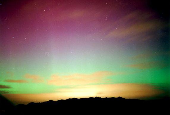Você sabia que existe a aurora austral