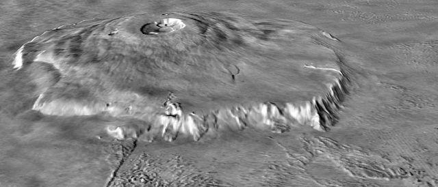 Vulcão mais alto do Sistema Solar