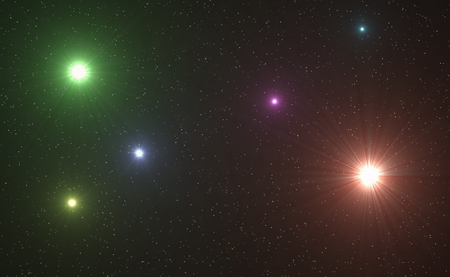 Principais tipos de estrelas