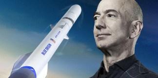 Por US$ 28 mi, pessoa misteriosa viajará com Jeff Bezos para o espaço