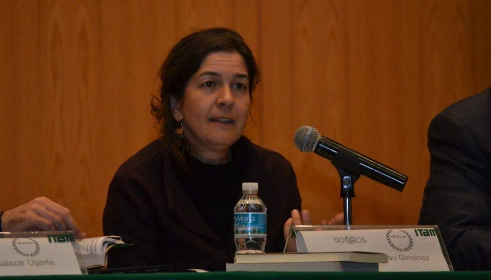 Dr. Francisca Pou, profesora de Derecho Constitucional del ITAM. FOTO: ITAM