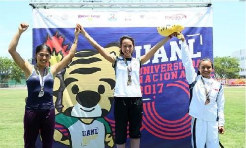 Andrea Martínez, atletismo