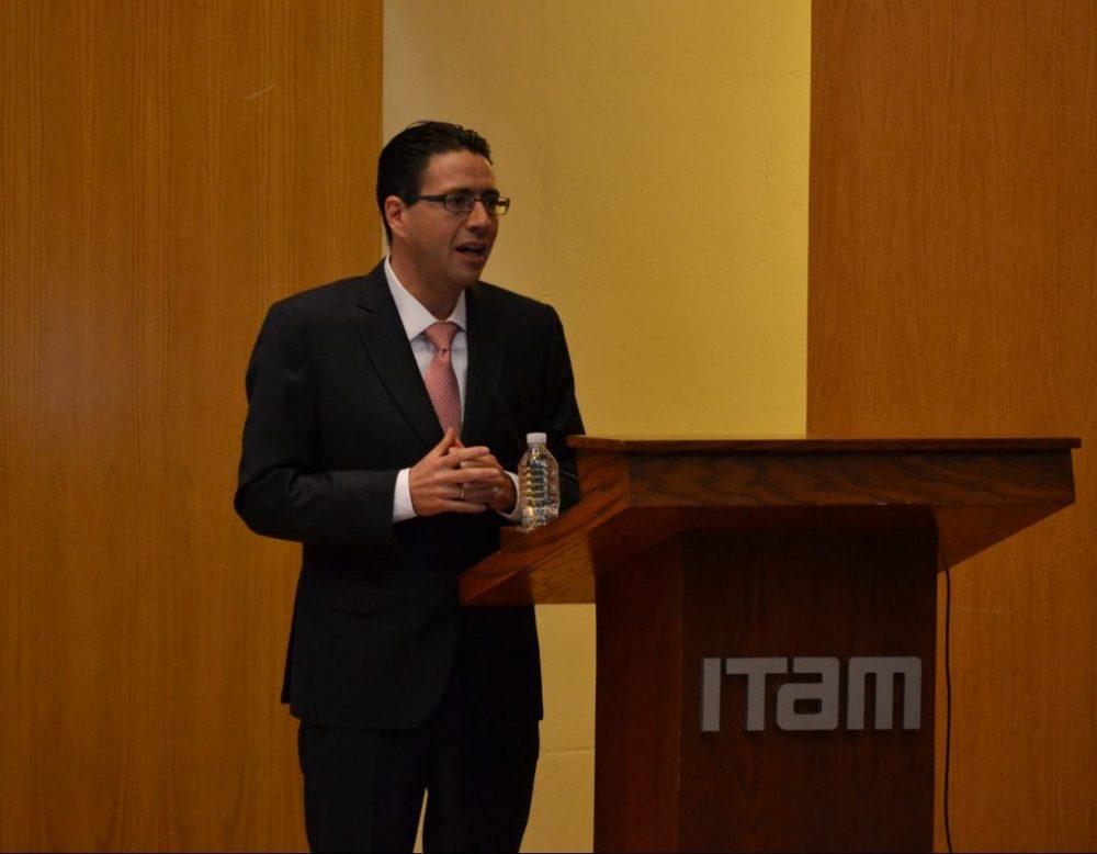 Maestro Juan Carlos Zepeda Molina, Comisionado Presidente de la CNH. FOTO: ITAM