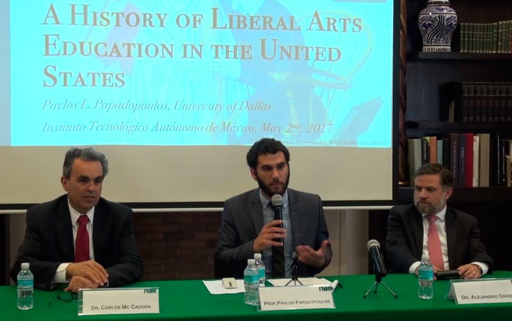 Dr. Carlos McCadden,Dr. Pavlos Papadopoulos y Dr. Alejandro Ordieres. FOTO: ITAM