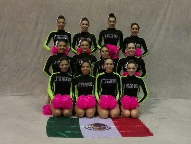 Cheerleading ITAM. FOTO: ITAM