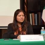 Marcelina Bautista, secretaria general colegiada del Sindicato Nacional de Trabajadoras del Hogar. FOTO: ITAM