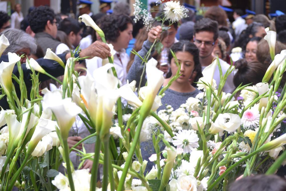 Ceremonia Fuerza México. FOTO: ITAM