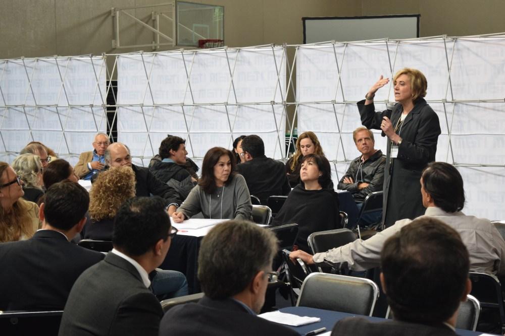 Sesión de Análisis e Ideación en el gimnasio. FOTO: ITAM