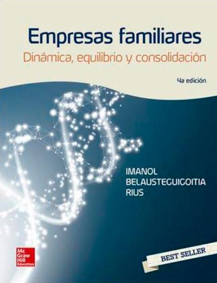"""4a Edición del libro """"Empresas familiares. Dinámica, equilibrio y consolidación""""."""