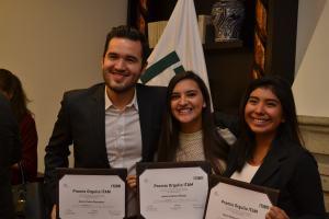 Xavier Rosas Riosegura, Anhara Gámez Rueda, Karla Rebeca Toledo