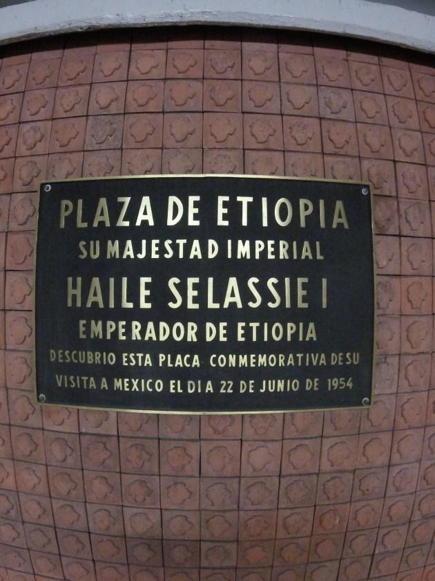 Plaza de Etiopía o las escasas relaciones entre México y África