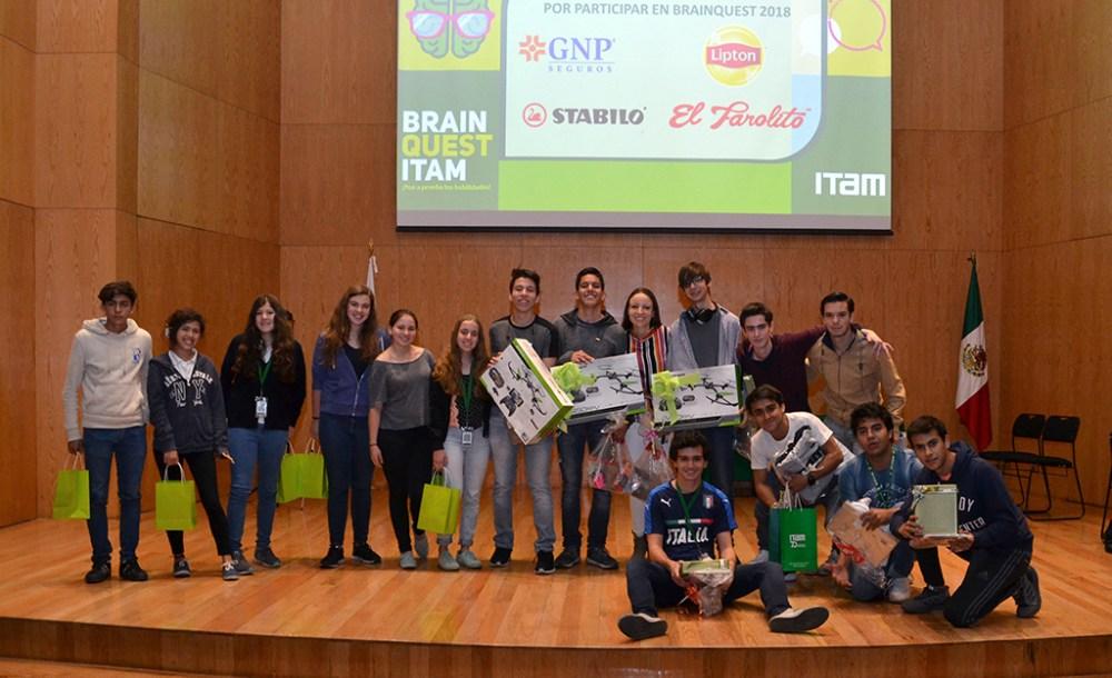 Finalistas del Brain Quest 2018. FOTO: ITAM
