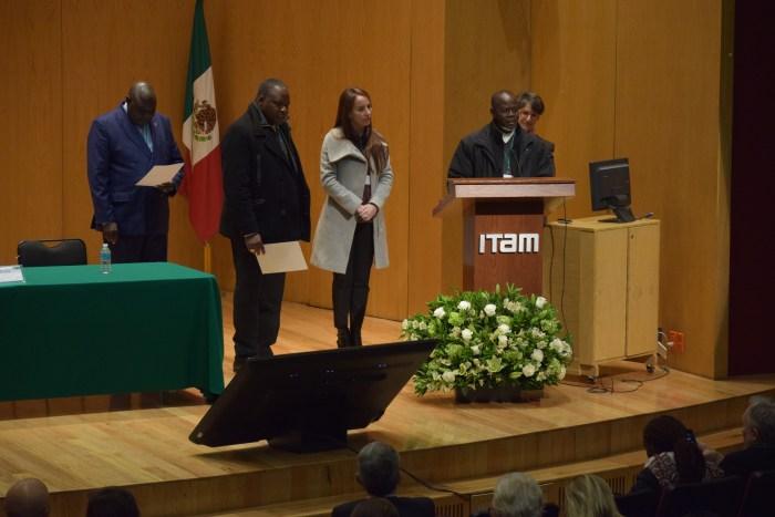 líderes sociales africanos