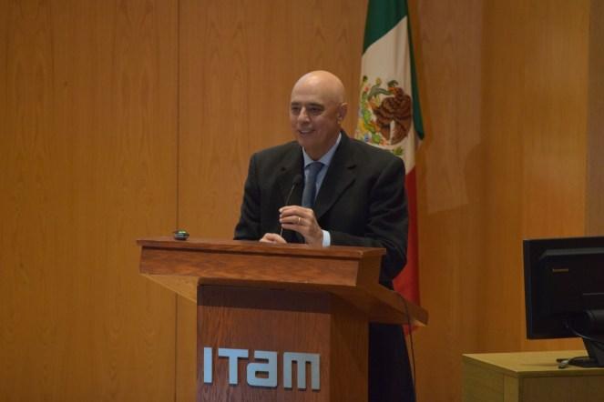 Dr. Arturo Fernández., rector del ITAM. FOTO: ITAM