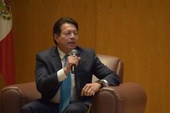 Mario Delgado, coordinador del grupo parlamentario de Morena.