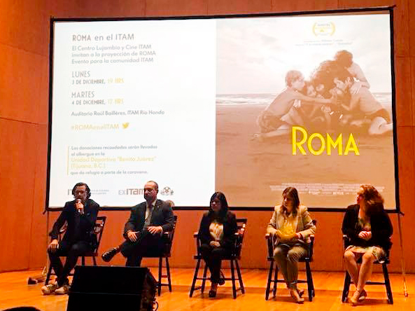 Emilio Lezama, Horacio Vives, Marcelina Bautista, Marta Cebollada y Elisa Juárez. Foto: ITAM
