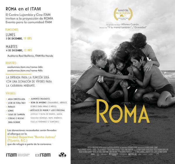Trabajadoras del hogar; Roma en el ITAM