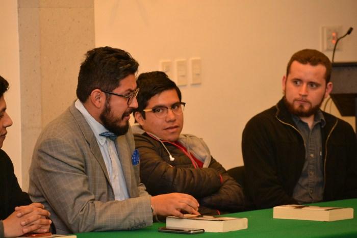 Profesor Héctor Pérez, departamento de Derecho.
