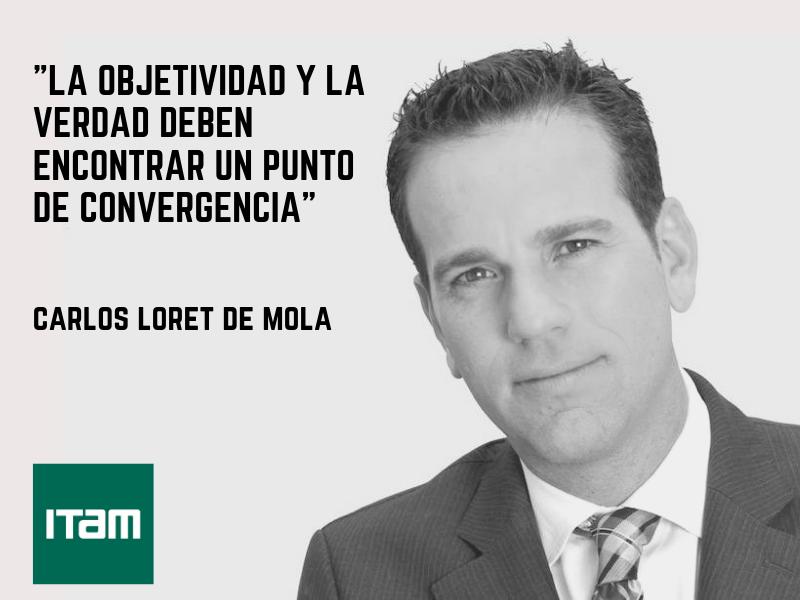 Carlos Loret de Mola en el ITAM