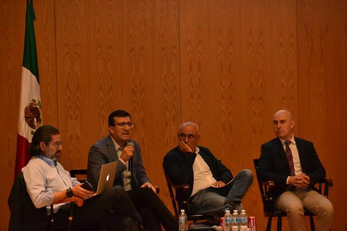 Francisco Abundis, Alejandro Moreno, Jorge Buendía, Alberto Simpser y Roy Campos