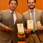 Becarios de la Beca Nuestro ITAM ganadores del premio a las mejores tesis del 2018