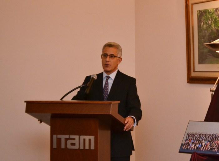 Dr. Alejandro Hernández, Vicerrector del ITAM.