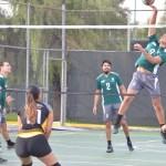 Enfrentamiento de voleibol entre el ITAM y Palacio de Hierro