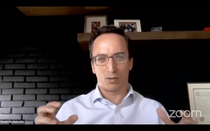 Daniel Nicolaievsky explicó la caída en ingresos de las empresas.