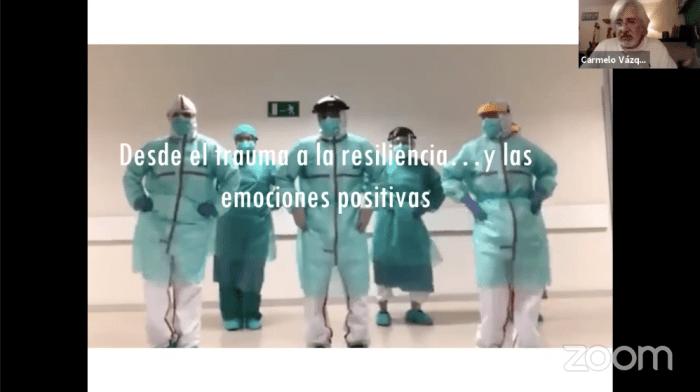 El profesor Vázquez habla de la importancia de emociones positivas.