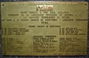 Tributo a don Raúl Baillères y al primer consejo de directores y asociados fundadores de la AMC y el ITM