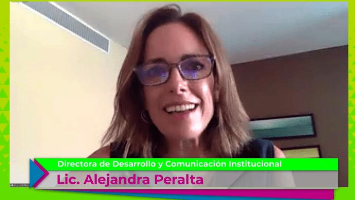 Alejandra Peralta, Directora de Desarrollo y Comunicación Institucional. Foto ITAM.