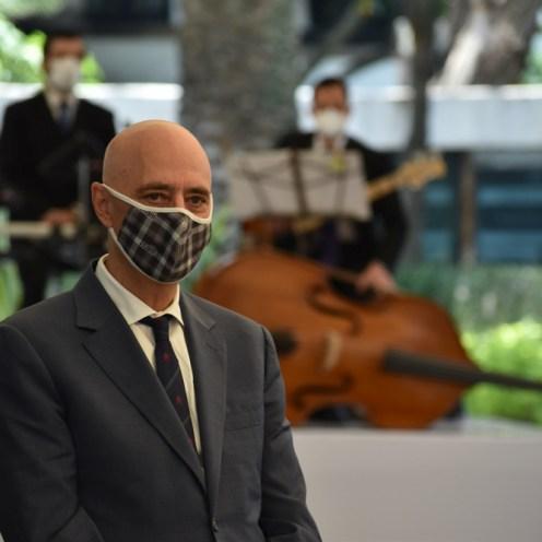 Arturo Fernández Bienvenida a facultad al campus ITAM