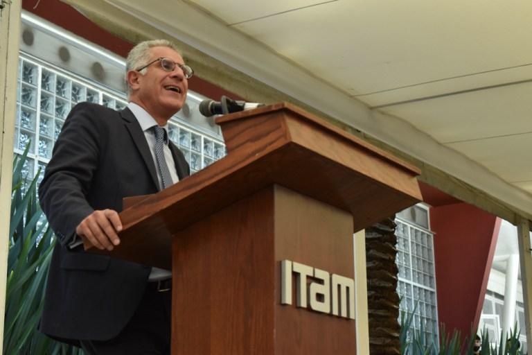 Dr. Alejandro Hernández, Vicerrector del ITAM