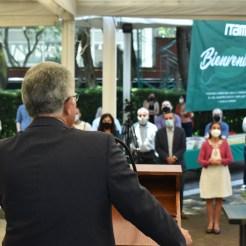 Dr. Alejandro Hernández, Vicerrector, Bienvenida a facultad al campus ITAM