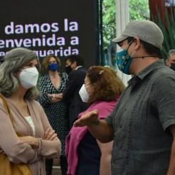 Margarita Tarragona Bienvenida a facultad al campus ITAM