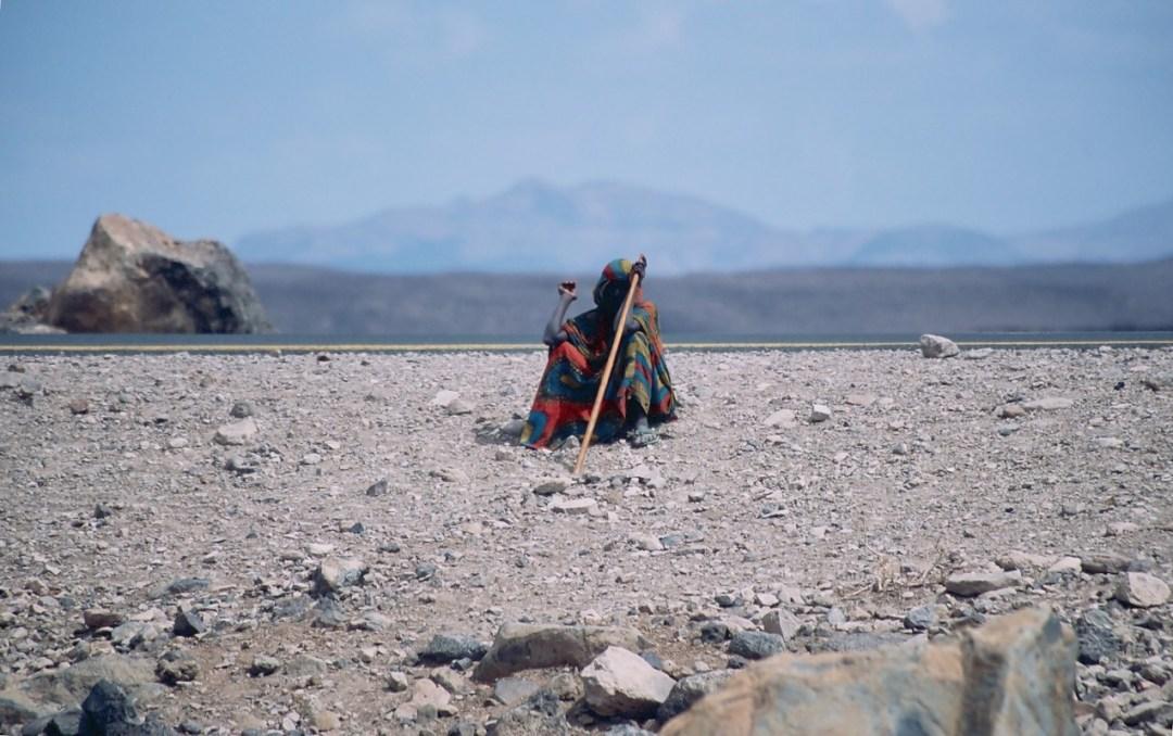 Descansa mujer - Canon EOS500N - Kodakchrome 100 día