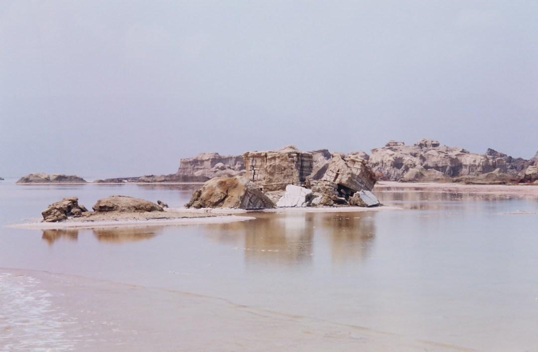 Montañas de sal - Canon EOS500N - Kodakchrome 100 día ETIOPÍA