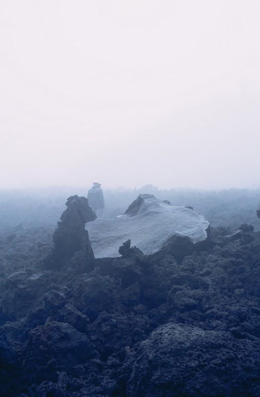 Niebla en el volcán - Canon EOS500N